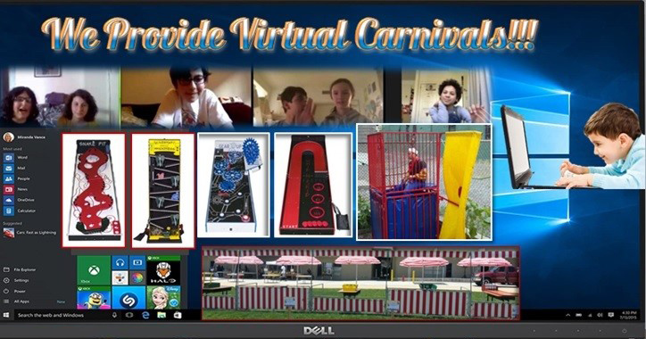 We Provide Virtual Carnivals!