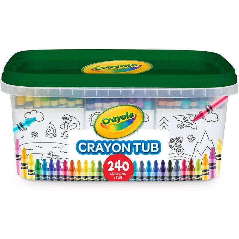 Crayon Tub 240 Pieces